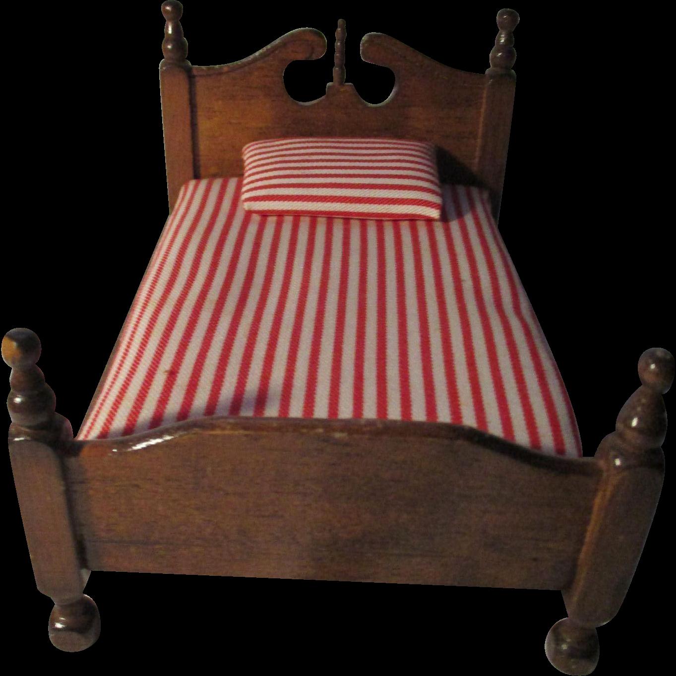 Vintage Wooden Bed 78