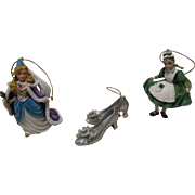 Vintage Disney Christmas Ornaments Wizard Of OZ