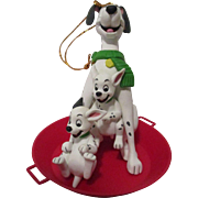Vintage Disney 101 Dalmatians Christmas Ornament