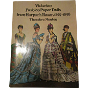 Victorian Fashion Paper Dolls From Harper's Bazar 1867-1898 By Theodore Menten