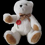 Vintage Hermann White Teddy Bear