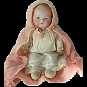 Armand Marseille German bisque baby.