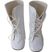 White Boots For Your Doll