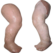 Antique Composition Baby Doll Legs
