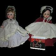 Vintage Madame Alexander Dolls - Alexander-Kins Marme and Meg from Little Women