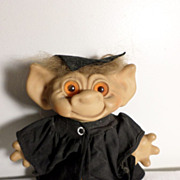 Vintage Wishnik Troll Doll