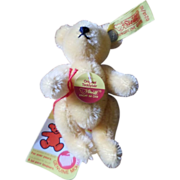 Cute Tan Steiff Bear