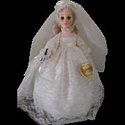 Vintage Effanbee Blonde Bride Doll Box # 3325