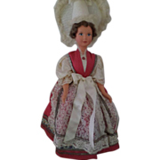 Vintage Beautiful Hard Plastic Doll