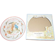 Peter Rabbit by Wedgwood Christmas Plate