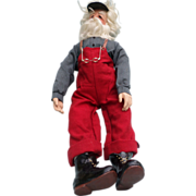 Mary Alice Byerly Signed Santa Doll