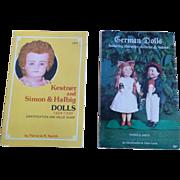Two German Doll Books Kestner and Simon & Halbig and German Dolls Book