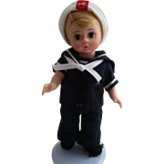 Vintage Madame Alexander Doll The Sailor Made Exclusively For F.A.O. Schwarz