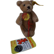 Cute Steiff Jointed Teddy Bear. - Light Brown