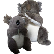 Vintage Kareela Koala Bears Mom and Baby