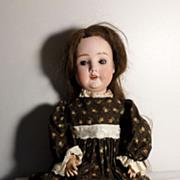 Antique Bisque Th. Recknagel Girl Doll