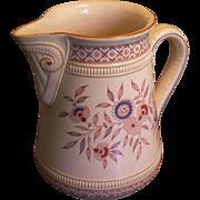 Antique  Mettlach, Villeroy & Boch pitcher