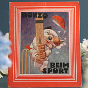SALE An Austrian Bonzo Booklet from the 1930s