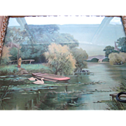 """James Lee circa 1904 Print-and Frame """"A Summers Day"""