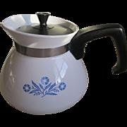 Corning Ware Corn Flower 6 cup Tea Pot