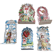 1920s-1930s Valentine Pop out Valentine Cards