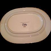 Versatone Noritake Japan Bleufleur B319W41 Meat Platter