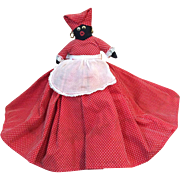 1940 Toaster Cover Mammy Doll