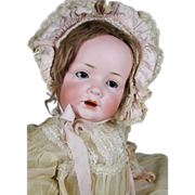 Life Size Antique German Bisque Baby Doll