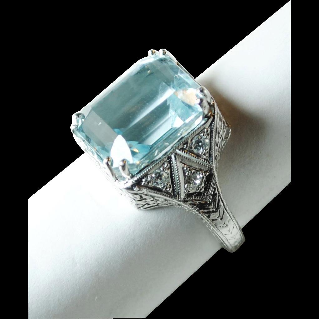 Antique Engagement Rings Designs Art Deco Edwardian