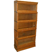 Lawyers 5 Stack Bookcase by The Globe Wernicke Co