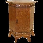Oak Hexagon Ceremonial Cabinet or Table