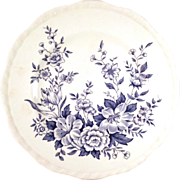 "SALE Set of 6 Alfred Meakin ""Garden Bounty"" Dinner Plates"