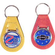 SALE Set of 2 Classic Chevy Key Chains