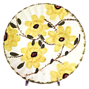"""SALE Early  """"Blue Ridge - Wild Daisy"""" Dinner Plate by Southern Potteries"""