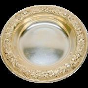 S. Kirk & Son Dish Art Nouveau Sterling Silver Antique