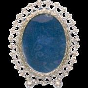 Photo Frame Sterling Silver Delightful Charm Vintage
