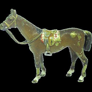 Vienna Bronze Horse Figurine Statue Austria Brass Vintage 1375 J