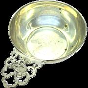 Marshall Field Porringer Duck Antique Sterling Silver Child's Bowl Dish NA 913 Q