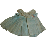 """Tagged Shirley Temple dress for 13"""" composition doll"""