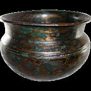 SALE Ancient Hellenistic Greek Small Bronze Pot c. 3rd c. B.C