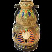 King Tut Czech Pottery Vase