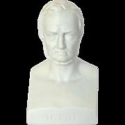 German Parian Bust 'Arndt' 19th C.