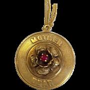 Mother Dearest 14k Gold Charm