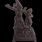 Nepalese Bronze Deities Hanuman and Surasa  Figure 17th C.