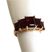 Madeira Citrine Ring 14k Size 7