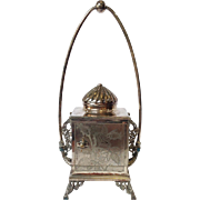 Victorian Silver Plated Jewelry Casket by Reed & Barton