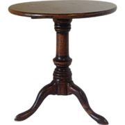 Miniature Tilt Top Table Mid 19th C