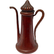 Gorham Small Copper Coffee Pot 19thc