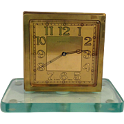 Vintage Tiffany Art Deco Partners Clock