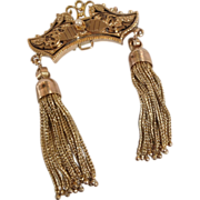 Victorian Tassel Pin  or Pendant 10K and 14K